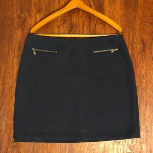 Laundry by Shelli Segal dark blue skirt